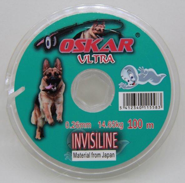 Oskar Invisiline Hayalet Makara Misina 0.26 mm 100 Mt.