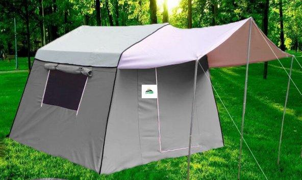 Tek Odalı İçten Kurmalı Suni Deri Kamp Çadırı