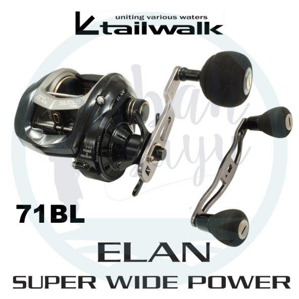 Tailwalk Elan Super Widepower 71BL Çıkrık/Baitcasting Jig Olta Ma