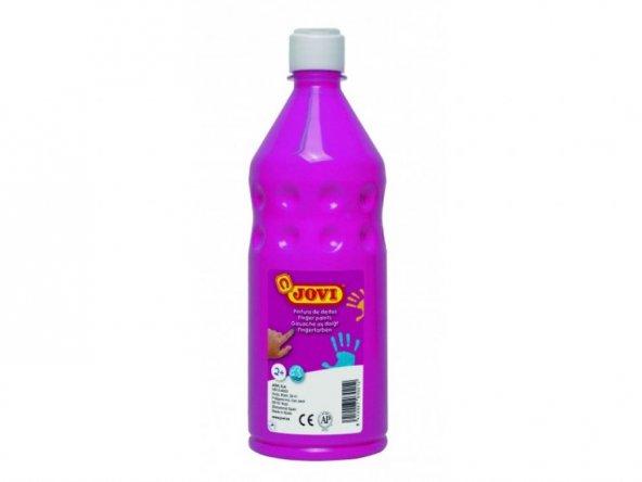 Jovi 750 ml Pembe Parmak Boyası (Ekonomik Şişe Ambalaj)
