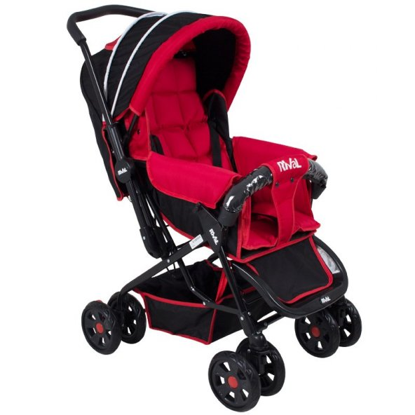 Rival Lucido Çift Yönlü Bebek Arabası kırmızı