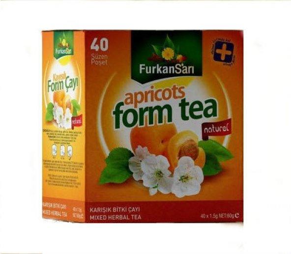 Kayısılı Karışık Form Çayı 40 süzen poşet