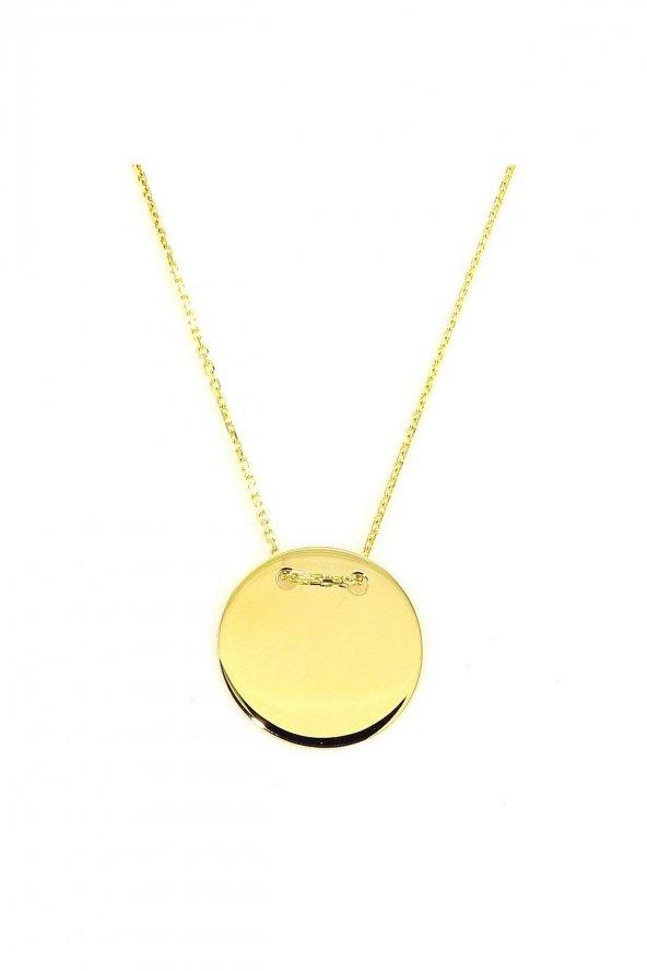 Cigold 14 Ayar Taşsız Kolye K1KOL0204000510