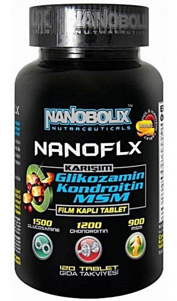 Nanobolix Nanoflx Glucosamine Chondroitin MSM 120 Tablet