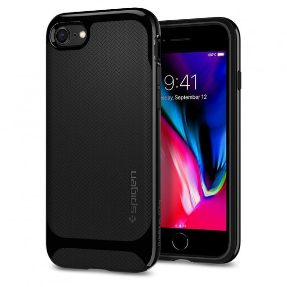 iPhone7/8 Kılıf, Spigen Neo Hybrid Herringbone Serisi