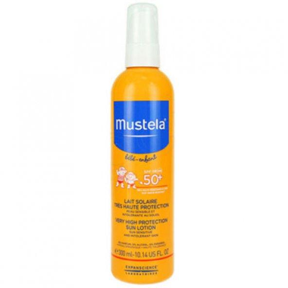 MUSTELA VERY HIGH PROTECTION SUN SPRAY  SPF 50+ 300 ML - COK YUK
