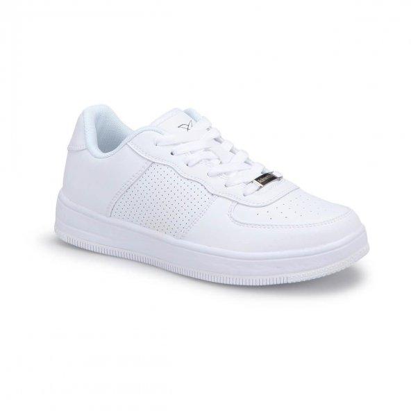 Kinetix Kalen Kadın Beyaz Günlük Spor Ayakkabı