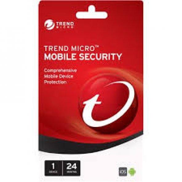 Trend Micro Mobile Security 3 telefon 1 yıl online teslim