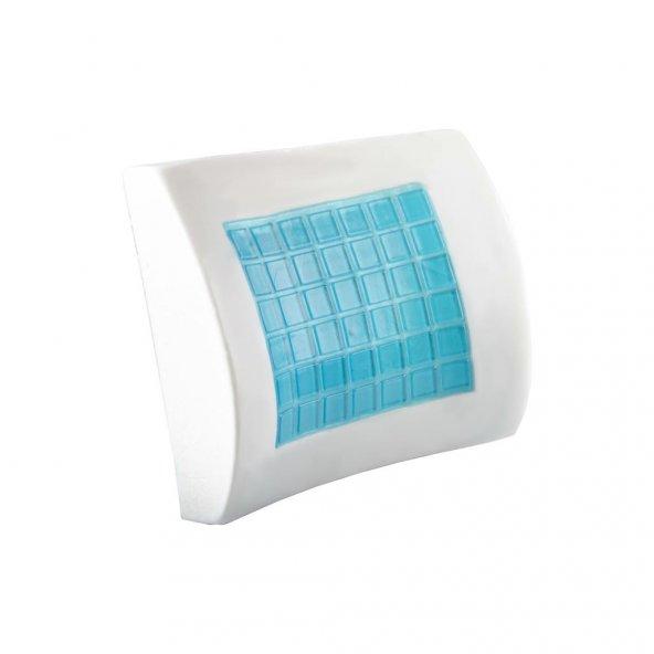 Visco Foam Ortopedik Jelli Bel Yastığı Bel Desteği Visco Yastık