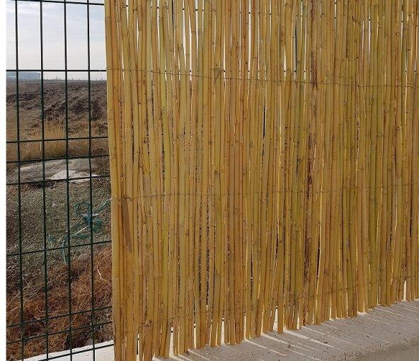 Bambu Cit 1x4,5= 4,5 m2 Kamış Çit Dekoratif Çit Rulo Bambu çit Hasır Çit