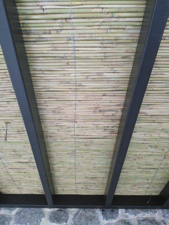 Bambu Cit 2x4,5= 9 m2 Kamış Çit Dekoratif Çit Rulo Bambu Çit Hasır Çit