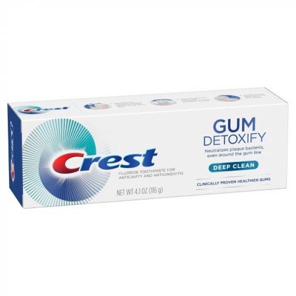 Crest Gum Detoxify Diş Etleri için Diş Macunu Deep Clean 116gr