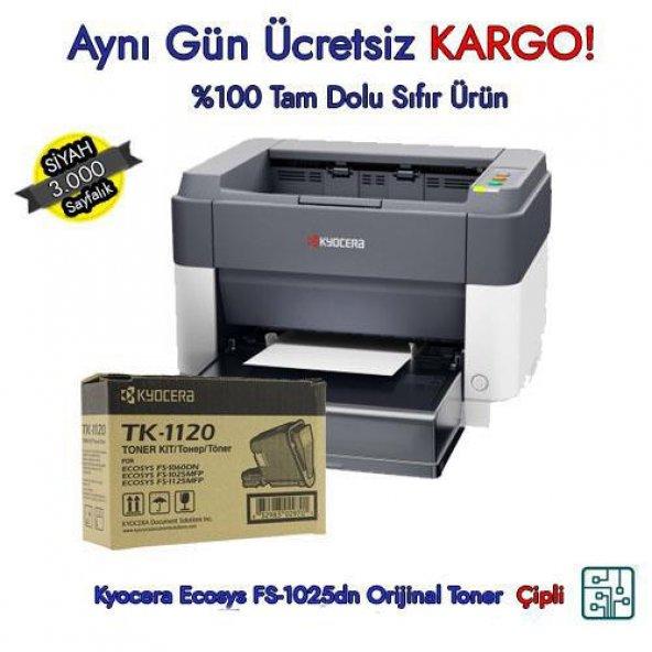 TK-1120 / Kyocera Ecosys FS-1060dn Orijinal Toner