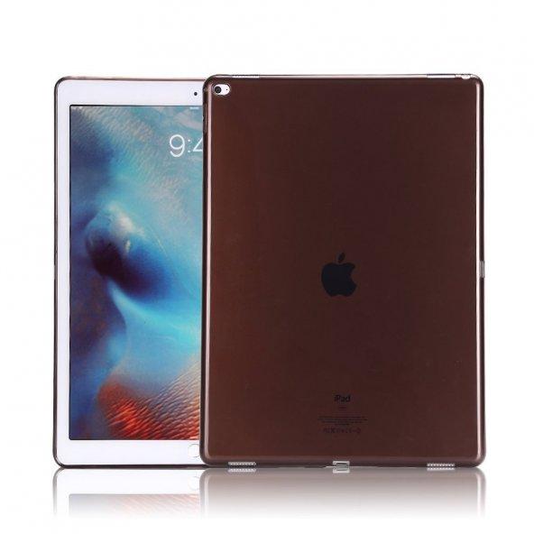 Apple iPad Pro 12.9 Tam Korumalı Silikon Kılıf Siyah