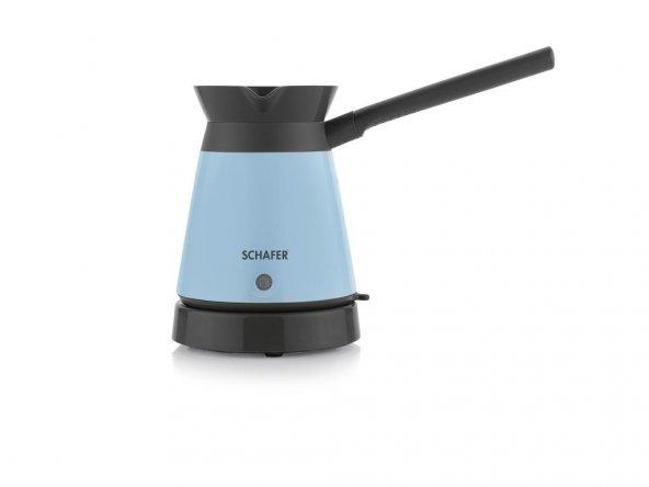 Kaffeefan Elektrikli Cezve - Turkuaz