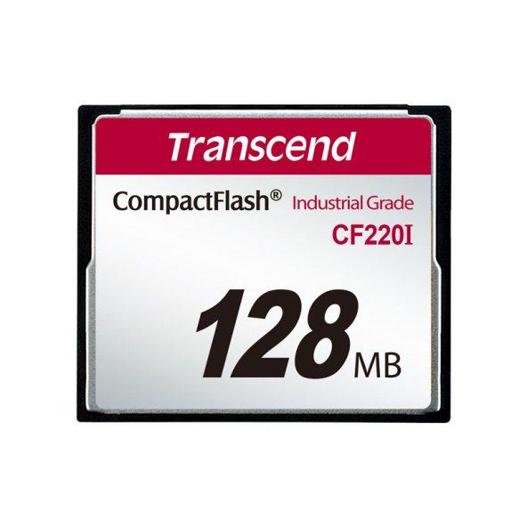 TRANSCEND TS128MCF220I 128GB CF220I 266X INDUSTRIAL HAFIZA KARTI