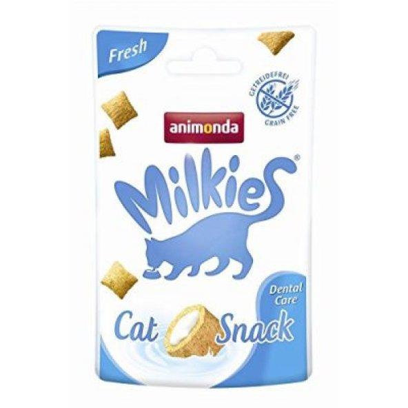 Animonda Milkies Fresh Diş Sağlığı Tahılsız Kedi Ödülü 30 Gr