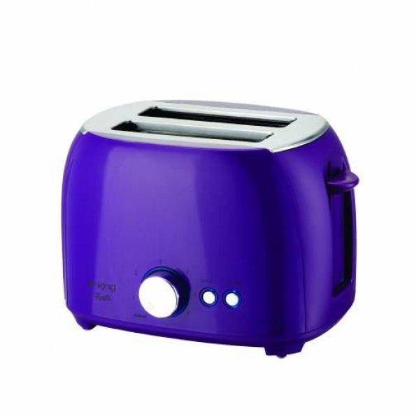 K-2178 Fiesta Ekmek Kızartma Makinesi - Mor