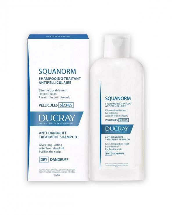 Ducray Squanorm Seches Şampuan 200 ml