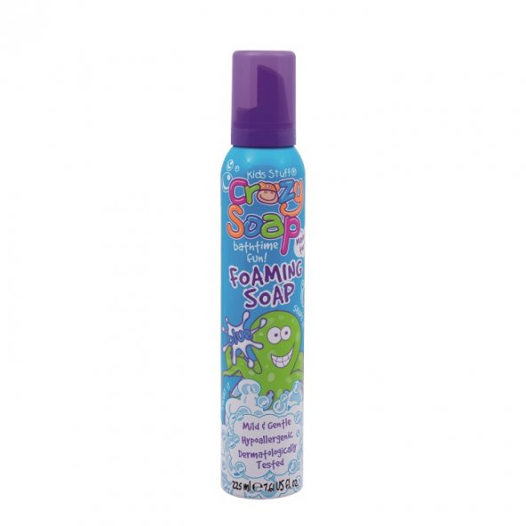 Crazy Soap &Ccedilocuklar İ&ccedilin Banyo K&oumlp&uumlğü Mavi Renkli 225 Ml