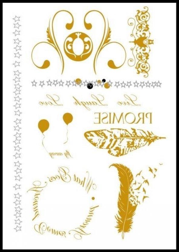 Flash Tattoo -Vücut Dövmesi MS-G1026
