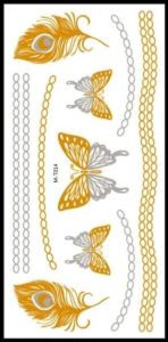 Flash Tattoo -Vücut Dövmesi M-T014