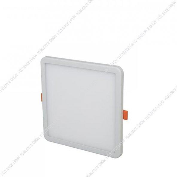 Cata Ct 5657 15 Watt Kare Kasa Plus Serisi Slim Led Panel Armatür