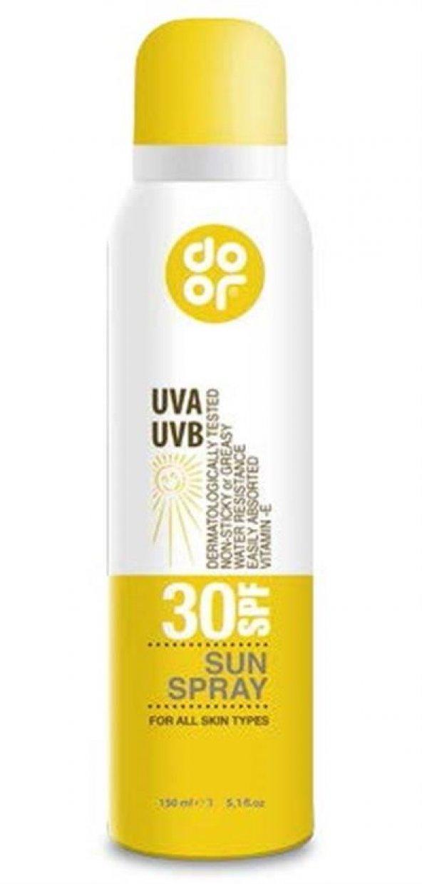 Door Sun SPF 30 Güneş Spreyi 150 ml
