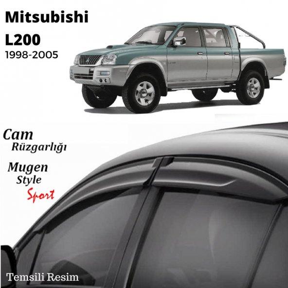 Mitsubishi L200 Cam Rüzgarlığı 1998-2005