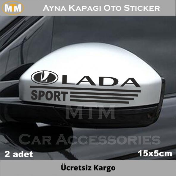 Lada Ayna Oto Sticker (2 Adet)
