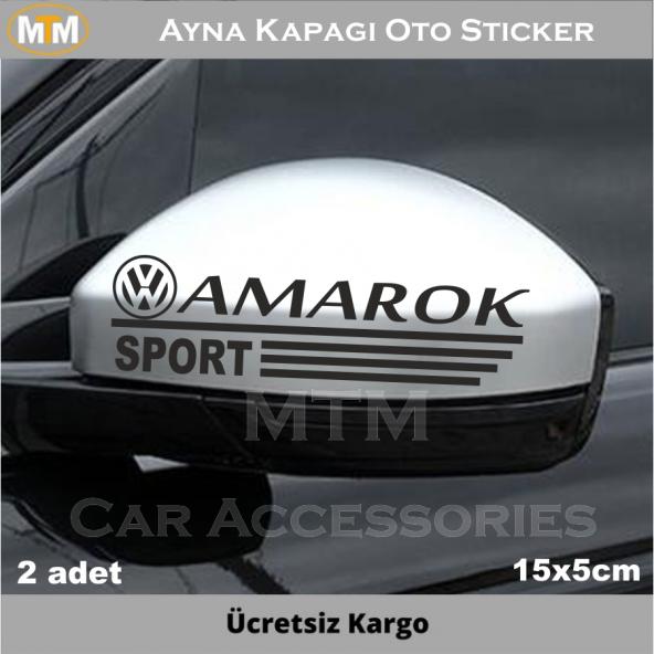 Volkswagen Amarok Ayna Oto Sticker (2 Adet)