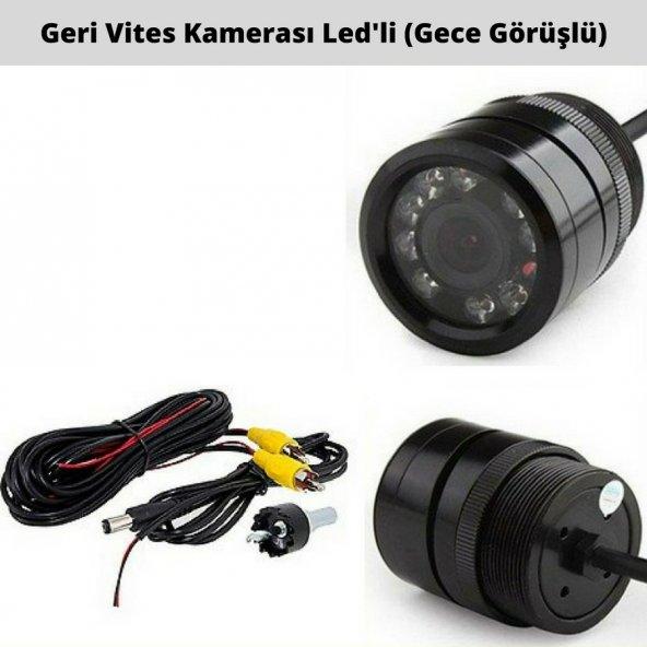 Kgn Geri Vites Kamerası HD Gece Görüşlü