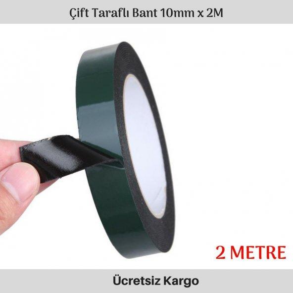 Gmax 10mm Çift Taraflı Bant 2mt