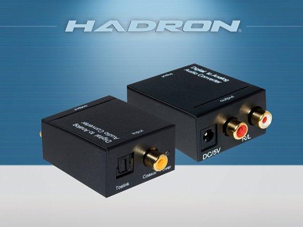 Hadron HD232 Digital to Analog Audio Converter Ses Çevirici