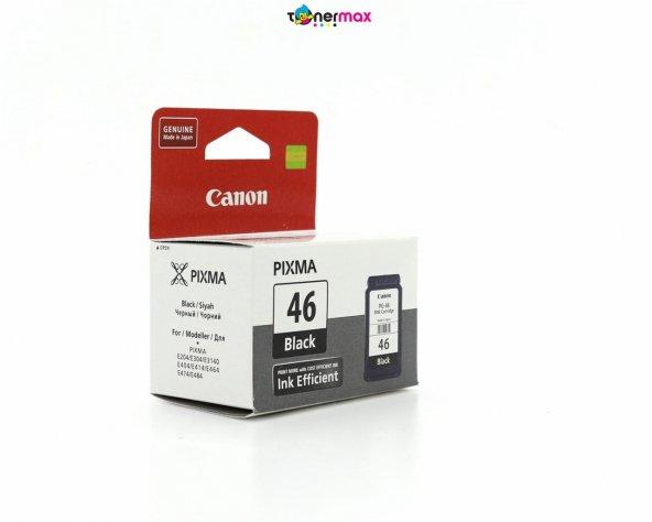 Canon PG-46 Pixma E404/E414/E464/E484 Siyah Kartuş