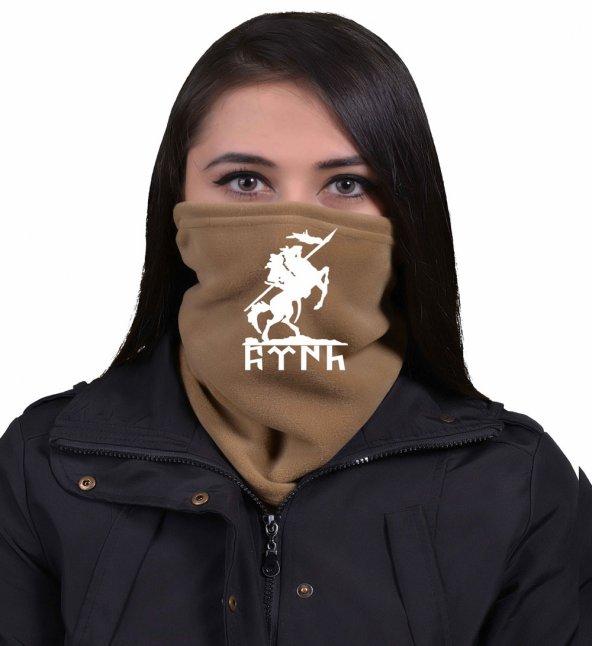 Kahve  Kürşatın Atı Ülkücü Bayan Boyunluk