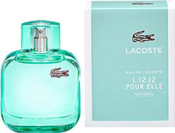 Lacoste Eau de L.12.12 Pour Elle Natural EDT 90 ml Kadın Parfüm
