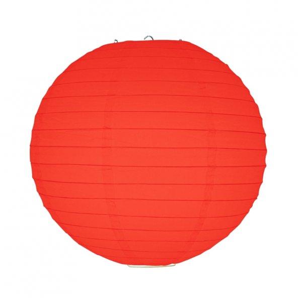 1 adet Kikajoy Kırmızı Dekor Fener 30 cm