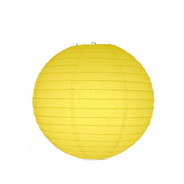 1 adet Kikajoy Sarı Dekor Fener 20 cm