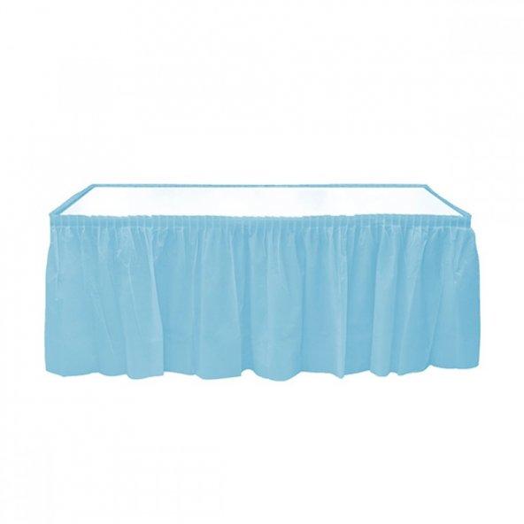 1 adet Kikajoy Kullan At Masa Eteği Mavi