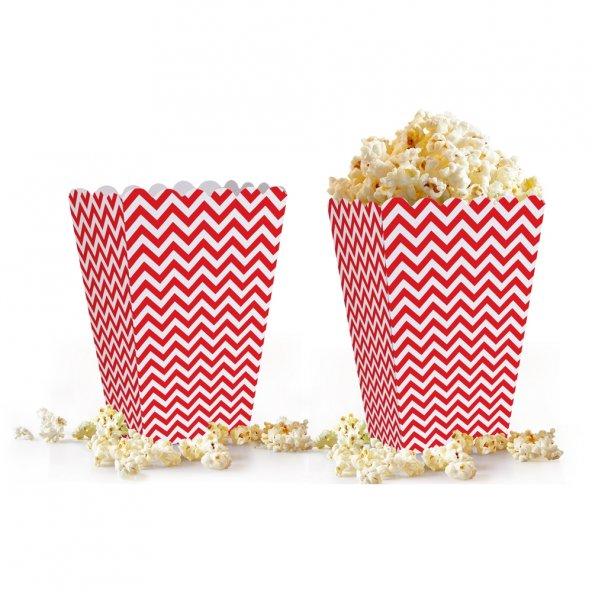 10 adet Zigzag ( Popcorn ) Mısır Kutusu