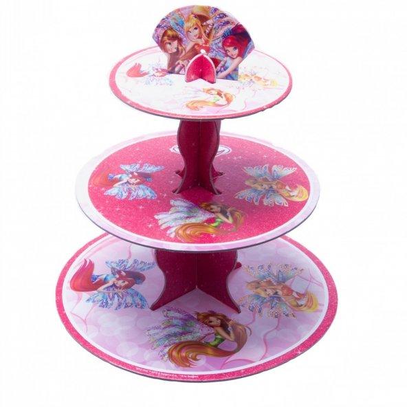 Winx Powerment Cupcake Standı