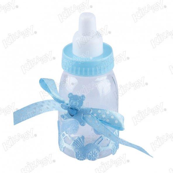30 adet Kikajoy Baby Shower Mika Biberon Mavi