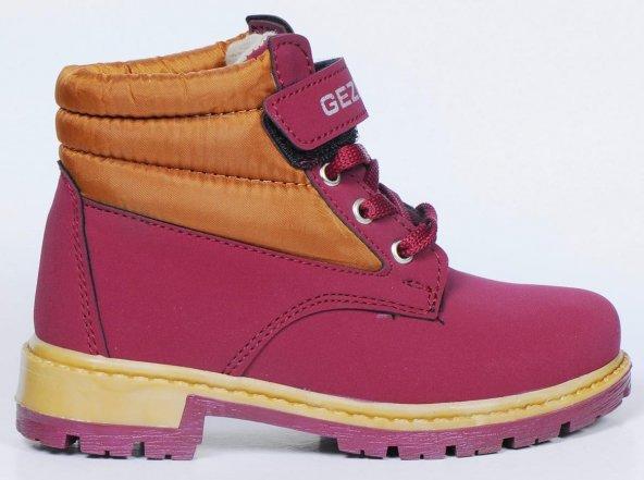 Çocuk Ayakkabısı Sarı Kırmızı