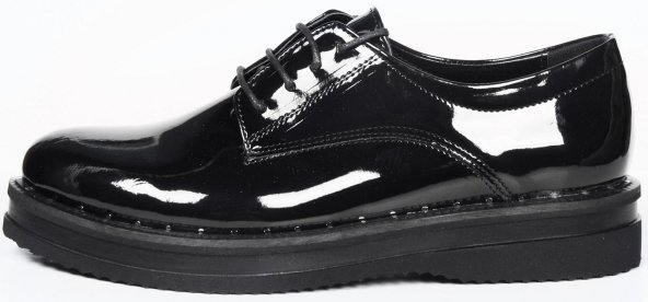 Bayan College Ayakkabısı Bağcıklı