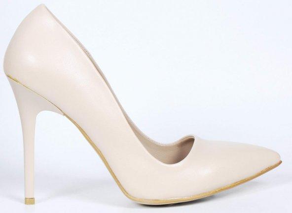 Bayan Stiletto Ayakkabı Rugan
