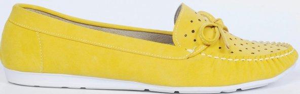 Bayan Babet Ayakkabı Sarı