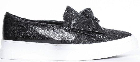 Bayan Babet Ayakkabı Siyah