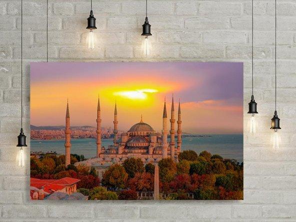 Sultan Ahmet Camii Türkiye Kanvas Tablo