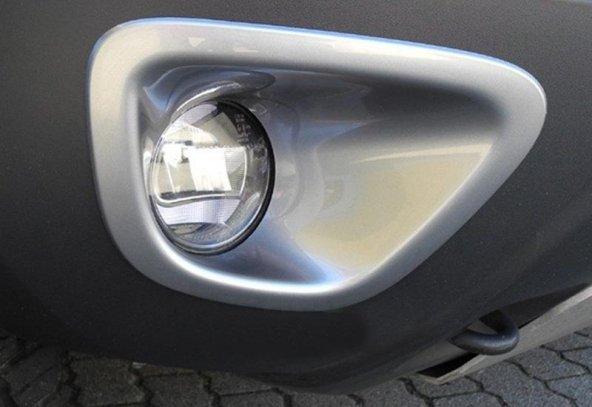 Dacia Duster 1 2009.2018 - Sis Farı Çerçevesi, OEM St., Gri, Vaku